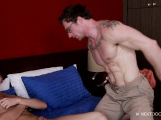 NextDoorBuddies Markie More Gives Dick 2 Hot Lean Bod!