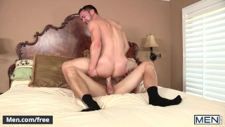 Men.com Colt Rivers and Jack King Sneaky Assistant Drill My Hole