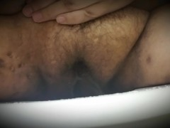 BBW Pissing and making a mess!