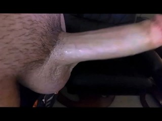 Intense Orgasm & Cumshot while Masturbating