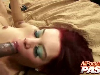 Redhead And Small Tits Lola Gets Jizzed