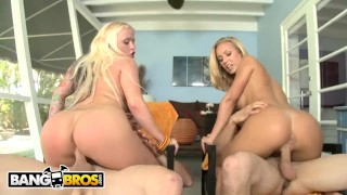 BANGBROS - Big Ass Blondes with Blue Eyes Feat. Angel Vain, Nicole Aniston Young dad
