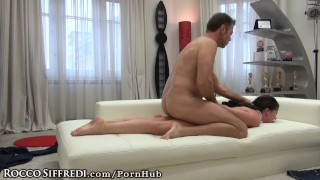 Francesca DiCaprio Dirty Talks in Italian As Rocco Drills her Ass Cock hardcore