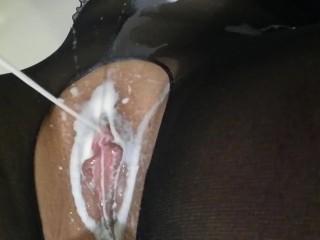 Cum on my pussy!