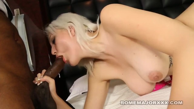 White Chick Jenna Ivory Drilled By Big Black Cock Rome Major