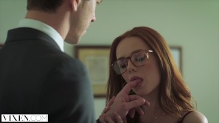 VIXEN Ella Hughes Begs To Be Tied Up and Dominated Cock tattoo