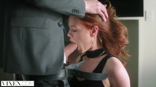 VIXEN Ella Hughes Begs To Be Tied Up and Dominated Toys bondage