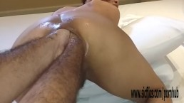 Double anal fisting extreme amateur Latina