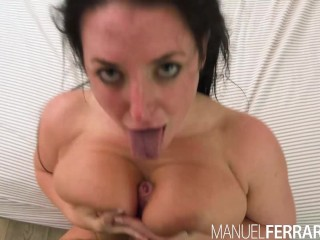 Manuel Ferrara - Angela White Anal, Big Tit Slut Makes Manuel Cum 3 Times