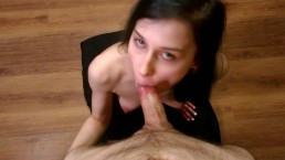 Sloppy Teen Face Fuck | Deep Throat, Facial