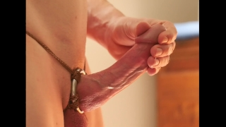 Orgasm of ring shaft a false start commentary ring shaft and harness cum young