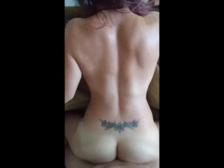 My #1, Big Cock fucking tattoo E bareback when she was married, compilation