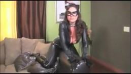 Catwoman meows and spoiled her self till you give her your milk