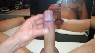 The mirror cock in cum cock