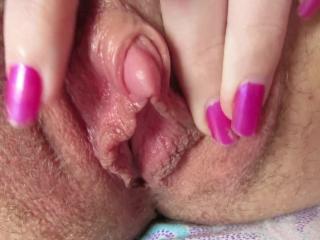 clit close up Rub