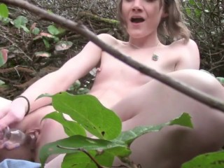 Princess Bambie exhibitionist public masturbation