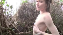 Princess Bambie exhibitionist public masturbation