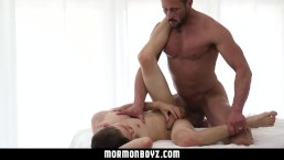 MormonBoyz - Shy Teen Used and Fucked Raw by Daddy