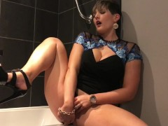 SNEAKING OFF AT A WEDDING TO DILDO MY PUSSY AND ASS XXX