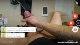 Hot guy with Big cock cums alot white 9inch gay new model horny