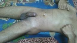 Male Nipple Masterbation