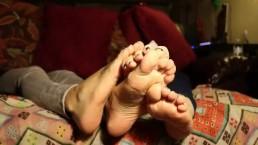 Susanna Guerriero con amica Fetish magnifici piedi