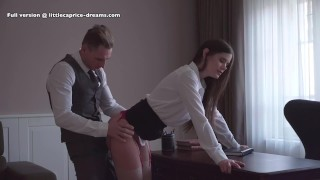 spanked in front of the class