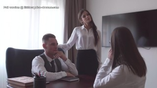 Mistreated during job interview Little Caprice, Alina Henessy, Marcello