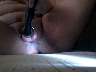 Cumming in chastity