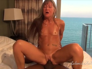 Sex at the Beach – Milf Fucks BBC