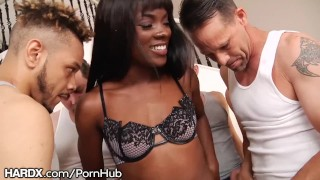 Ebony Babe Ana Foxxx 10 Hardcore Blowjobs Hot Bukkake