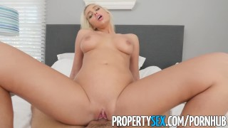 PropertySex - Good looking agent fucks home owner for listing Sex celeb