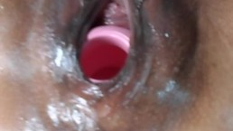 Hot Pussy Birthing Kong Toy and Squirting