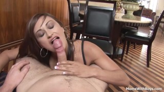 Tattooed babe Rachel Starr suck and ride big cock