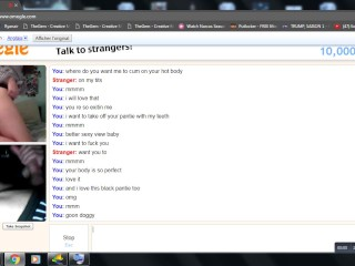 Horny Teen With A Perfect Body Joking With Me In Omegle