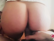 She needs FUCK HIM before go to work - Amateur Sex / Creampie !!!!!!!