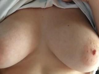 Slowly Grinding on Boyfriend's Cock Slow-Mo Tits POV