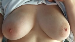 Slowly Grinding on Boyfriend's Cock Slow-Mo Tits POV