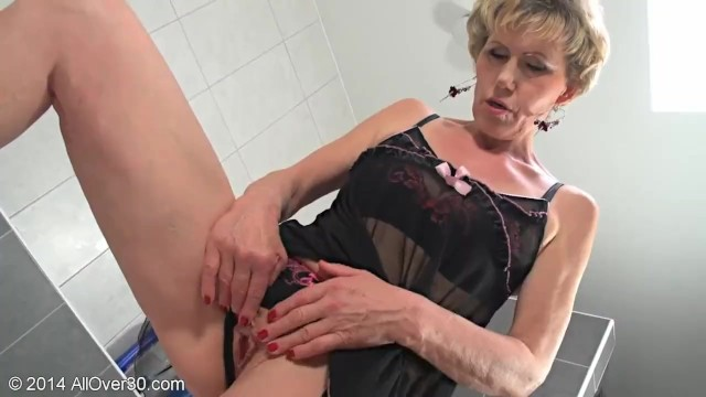 Mature leah all over 30 Mature blonde milf georgina sex and lingerie