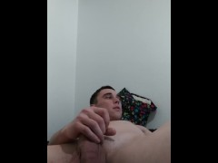 Teen boy jack off/first time playing with virgin butt