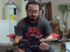 Why I Cut My AR15 in Half with a Saw - #oneless Assault Rifle