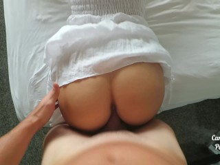 Creampied by stranger from tinder in hotel room in Thailand Carry Light