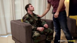 NextDoorStudios Sgt. Markie More, Sorry But I Want Ur Big Dick