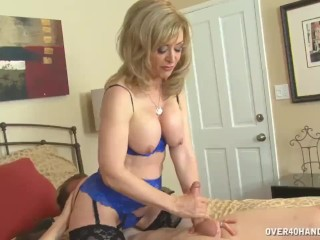 Milf Loves To See Sexy Guys Get Erections To Her