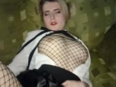 Hot squirt ll cute school girl cums hard