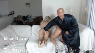 Interracial Big Dick Threesome Introduction Spanking Teen Ass