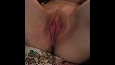 Badger using his cum slut. She is the best !!!