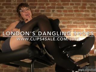London's Dangling Shoes - (Dreamgirls in Socks)