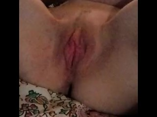 Stella playing with pussy and sucking cock