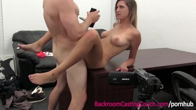 Backroom porn casting free - Big boobs blonde creampie in office